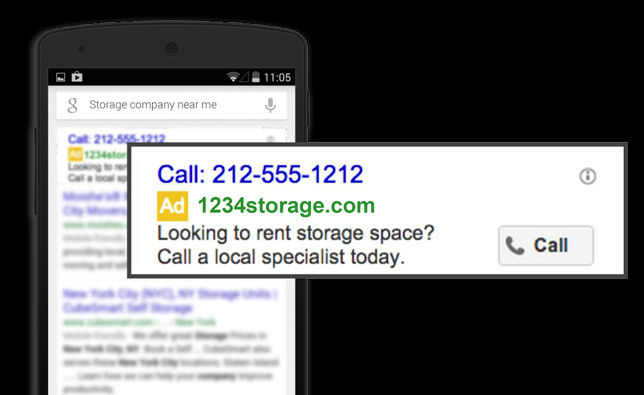 Adwords Will Now Show Your Phone Numbers Automatically
